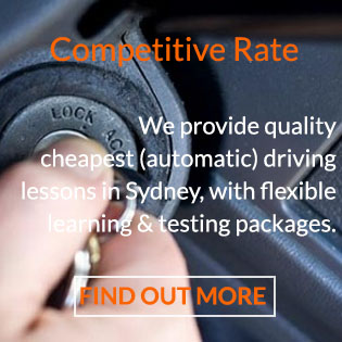 Driving School Sydney _ competitive rate